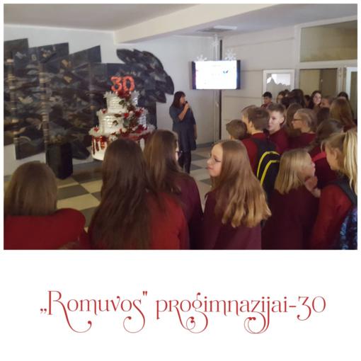 """,,Romuvos"""" progimnazija švenčia 30-ties metų jubiliejų!"""