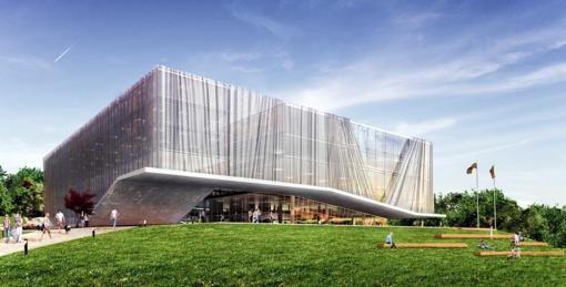 Nacionalinę koncertų salę ant Tauro kalno Vilniuje planuojama pastatyti iki 2023-iųjų