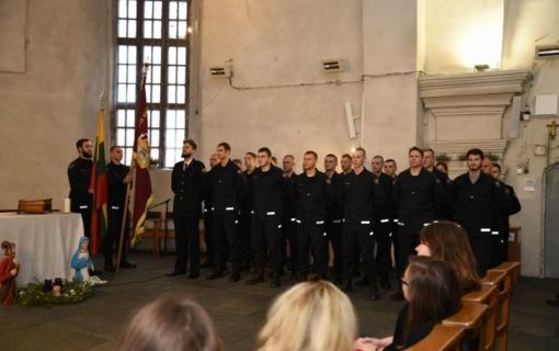 Vilniaus ugniagesiai metų darbus apibendrino padėkų popietėje