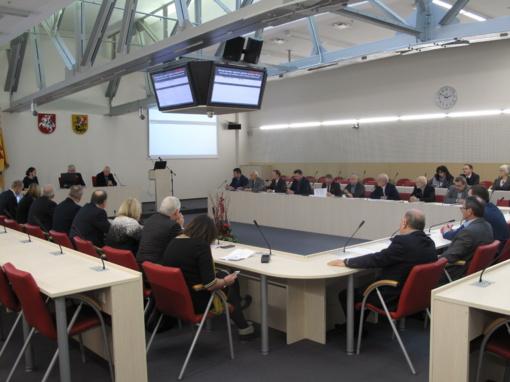 Vyko Marijampolės regiono plėtros tarybos posėdis