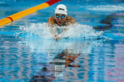 Plaukikė R. Meilutytė pasaulio čempionato pusfinalyje liko 14-a