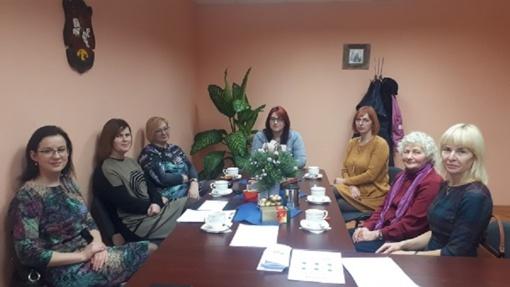 Susitikimas su Sangrūdos seniūnijos bendruomenės nariais