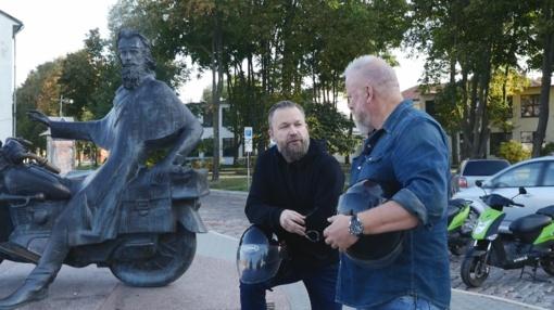 """Klaipėdoje apsilankę M. Starkus ir V. Radzevičius apstulbinti: """"Niekur pasaulyje neteko to matyti"""""""