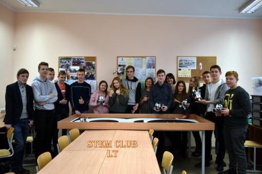 Stasio Šalkauskio gimnazijos slaptažodis – STEM