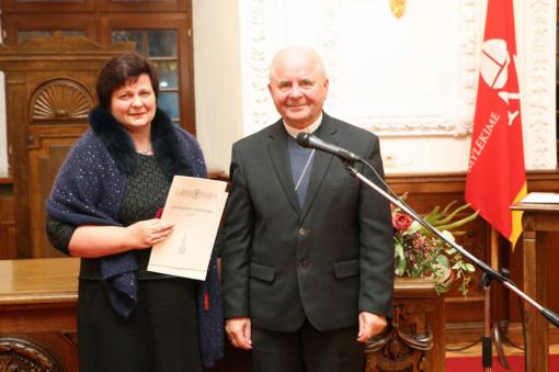 Lietuvos metų vaistininke tapo vilnietė K. Vaičaitienė
