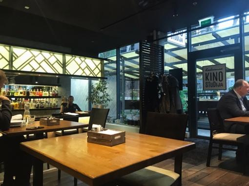 "Restorano apžvalga: ""Kino studija"""