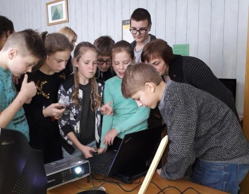Alizavos mokykla gaus kompiuteriukų klasės įrangą