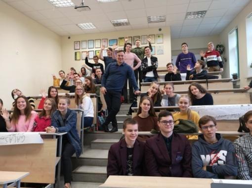 Būsimieji Ukmergės verslininkai ugdomi jau mokyklos suole
