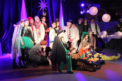 Kalėdinė pasaka džiugino mažuosius žiūrovus (fotogalerija)