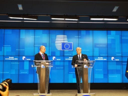 """""""Brexit'as"""": Europos Komisija ėmėsi įgyvendinti veiksmų planą, taikomą baigties be susitarimo atveju"""