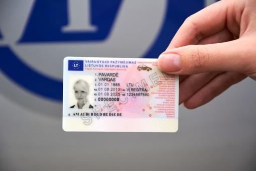 Seimas apsispręs, ar vairuotojo pažymėjimo užtenka asmens tapatybei nustatyti