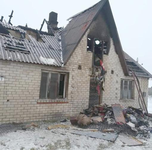 Po gaisro Būdvietyje pagalbos kreipėsi į visuomenę