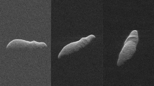 NASA netoli Žemės užfiksavo gigantišką begemoto formos asteroidą