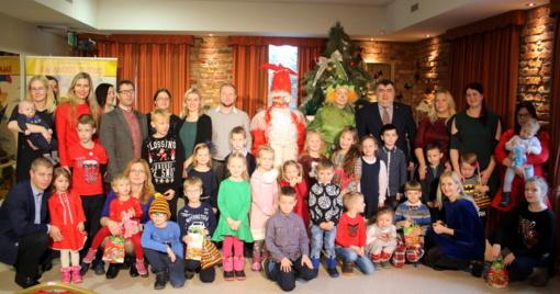 Šventinis mažųjų susitikimas su Kalėdų seneliu