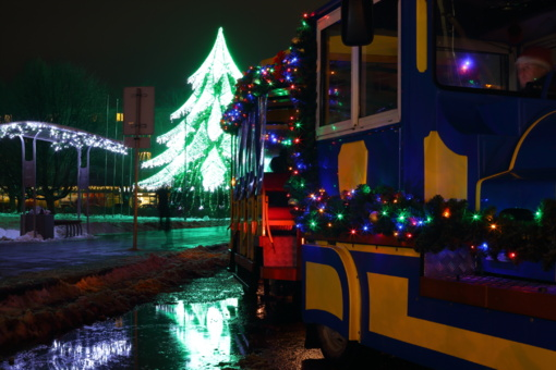 Pasivaikščiojimas po Kalėdines Širvintas (fotogalerija)