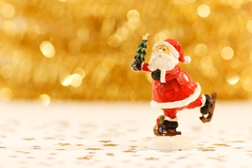 Ligoninės Vaikų ligų skyriuje lankėsi Kalėdų Senelis