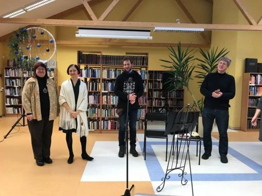 Birutės Mar spektaklis gražiai užbaigė bibliotekos renginių metus