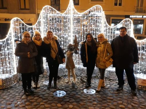 """Tarptautinio Erasmus+ KA2 projekto """"Healthy steps to better future """" vizitas Lenkijoje"""