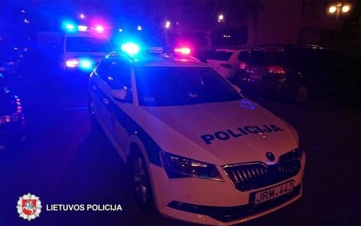 Kriminalai Tauragės rajone: eismo įvykiai, narkotikai ir vagystė