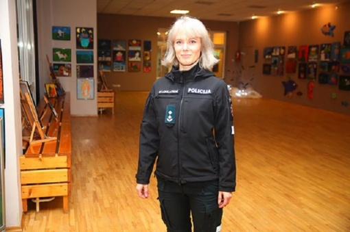 Komisarei patinka naujoji uniforma
