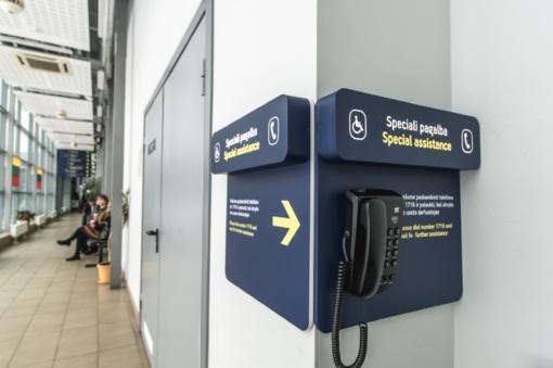 Lietuvos oro uostai: žmonės su negalia vis dažniau renkasi keliones lėktuvais