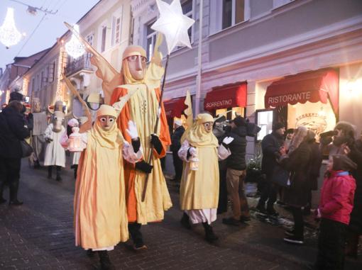 Sostinėje – Trijų Karalių palyda, ryt – Stačiatikių Kalėdos