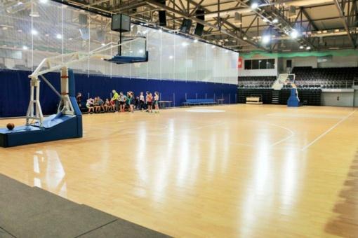 ASRC arenoje – skirtingų sporto šakų treniruotės ir varžybos vienu metu