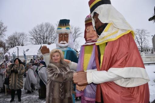 Per Marijampolę žygiavo Trys Karaliai!