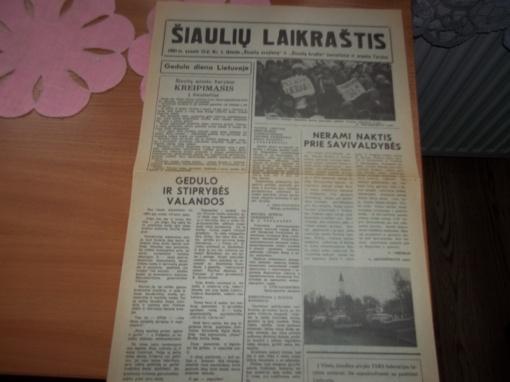 Laisvę gynė visa Lietuva