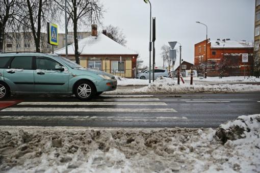Per dvejus metus Šiauliuose nežuvo nė vienas eismo dalyvis