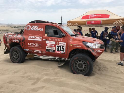 Lenktynininkas A. Juknevičius traukiasi iš Dakaro ralio, bet ketina padėti tautiečiams
