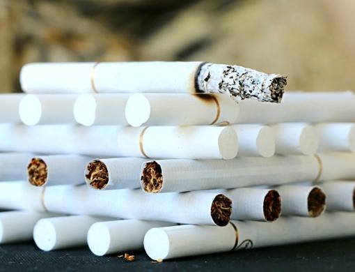 Pasvalio rajone sustabdytas tabaką vežęs vyras