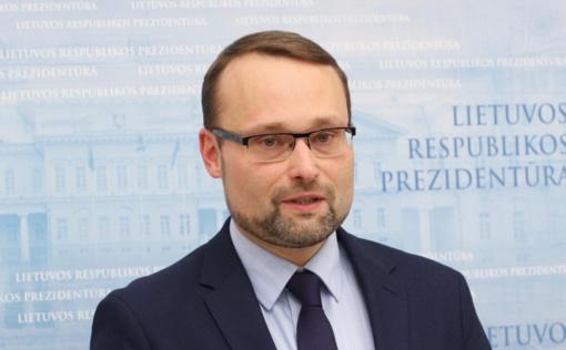 Darbą pradeda naujas kultūros ministras M. Kvietkauskas