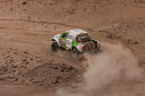 """Penktame Dakaro etape """"Agrorodeo"""" ekipažas užėmė 23 vietą"""