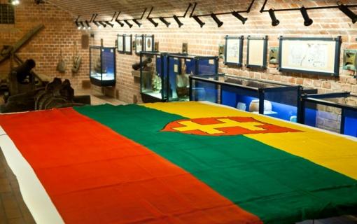 Valstybės pažinimo centre - per stebuklą išsaugota jūrinė trispalvė