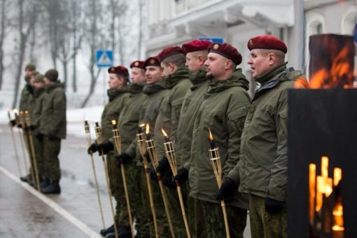 Laisvės gynėjų dienos renginys subūrė šiauliečius (fotogalerija)