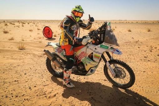 """Motociklininkas T. Jančys """"Africa Eco Race"""" ralyje užėmė 22-ąją vietą"""