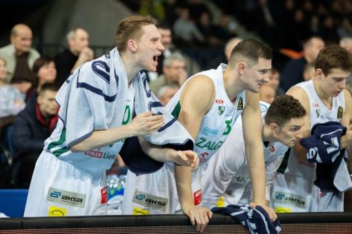 """""""Žalgirio"""" krepšininkai iškovojo sunkią pergalę Panevėžyje"""