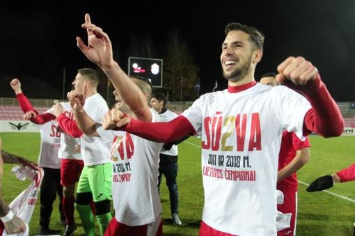"""Marijampolės """"Sūduva"""" pasiruošimą sezonui pradėjo pergale"""