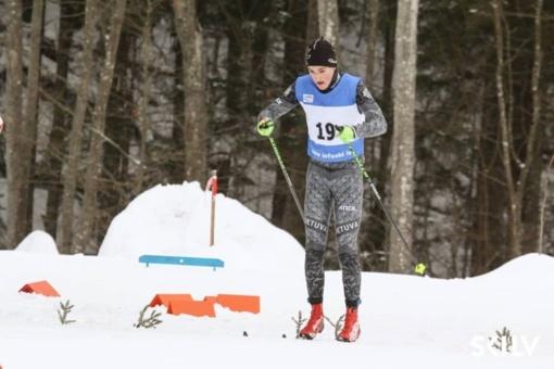 Palinkėkime sėkmės Ignalinos slidininkui