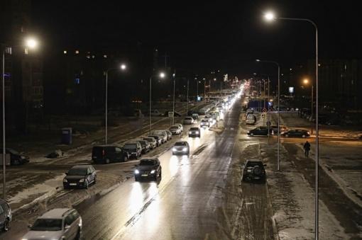 Šiaulių miesto gatvių apšvietimo tinklo modernizavimas įsibėgėja