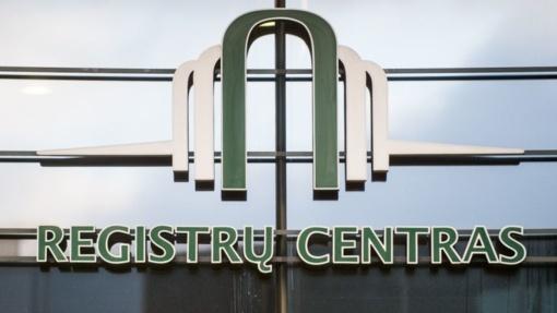 Auditas: dėl Registrų centro taikytos duomenų teikimo praktikos valstybė prarado milijonus