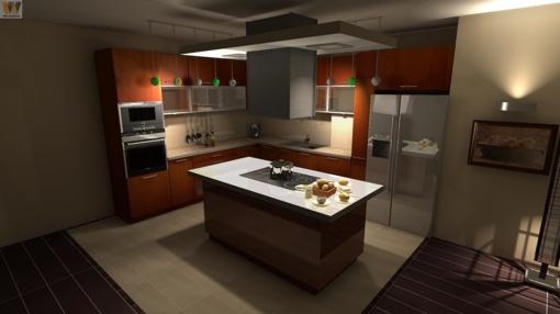 Kokie virtuvės baldai madingi šiemet?