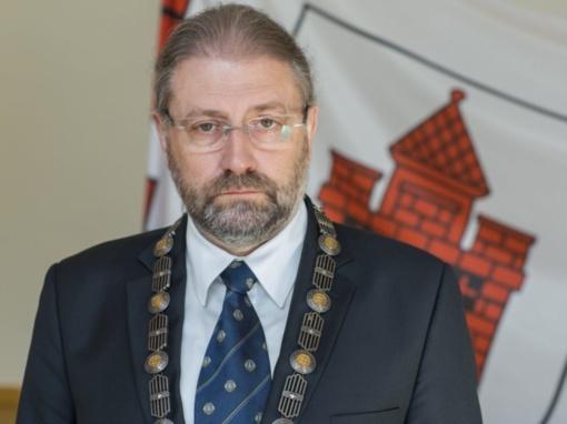 Panevėžio meras R. M. Račkauskas lieka nušalintas nuo pareigų