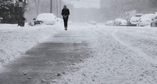 Informuojame apie pavojingą meteorologinį reiškinį-lijundrą