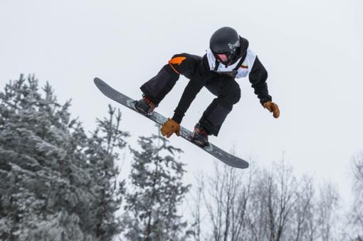 Snieglentininkas M. Morauskas Europos taurės varžybose Austrijoje - 17-as