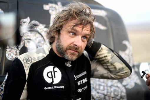 Lenktynininkas B. Vanagas devintajame Dakaro ralio etape - penktas!