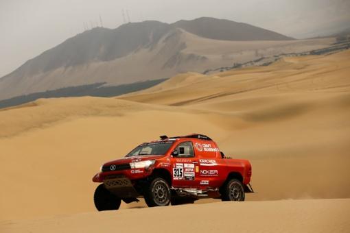 A. Juknevičiui 8-as Dakaro ralio etapas buvo rekordinis