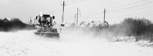 Net moderniausia technika nespėja paskui žiemos stichiją