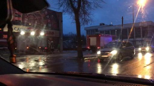 Į kazino skubėjo ugniagesiai (vaizdo įrašas)